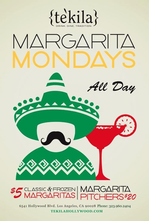 margarita monday specials